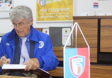 "Bora Milutinović u ""Borikovom spomenaru"""