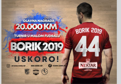 """Rasporedi/Rezultati/Grupe turnira u malom fudbalu """"Borik 2019"""""""
