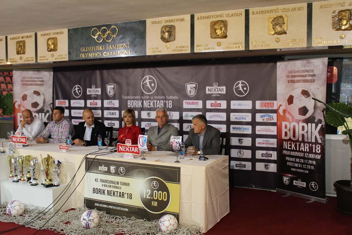 """Премијера 1. децембра - Турнир у малом фудбалу """"Борик Нектар '18"""""""