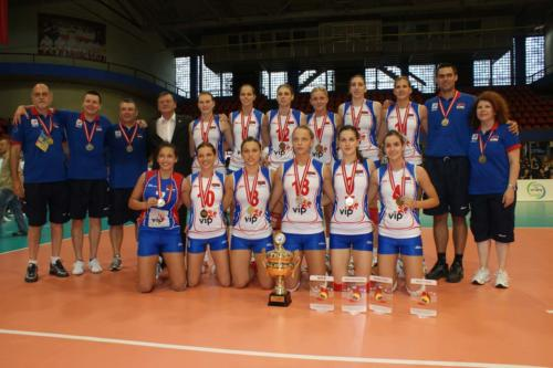 Балканско првенство за јуниорке у одбојци 2010