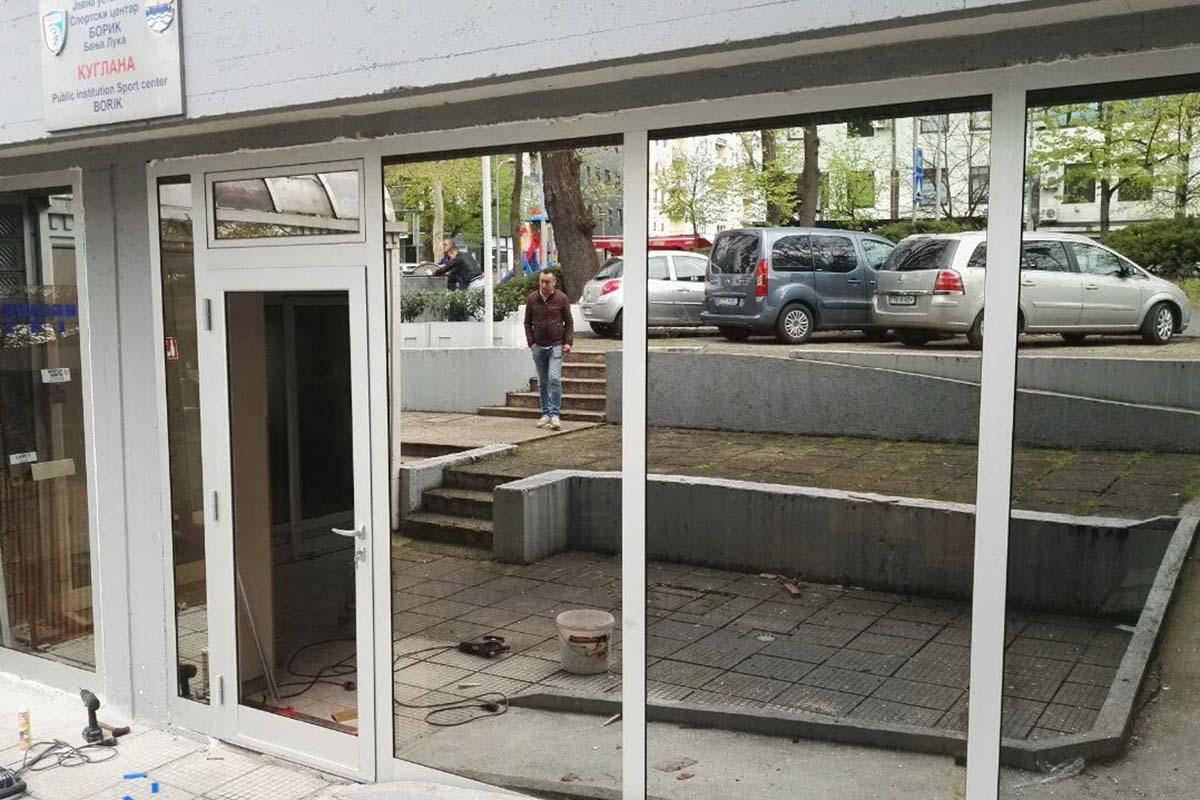 """Нови шанк у ресторану и врата са стаклима у куглани """"Борик"""""""